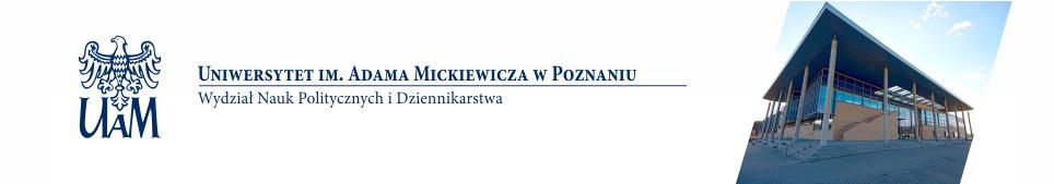 Wydział Nauk Politycznych i Dziennikarstwa UAM w Poznaniu